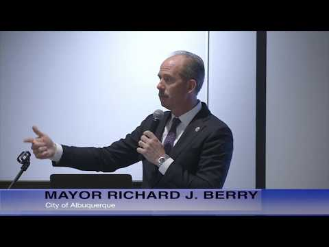 Mayor Richard J. Berry, City of Albuquerque  News Confernce  8-31-17
