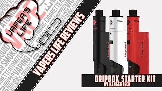 Обзор стартового набора Dripbox Starter Kit от Kangertech. Боттомфидер для новичка))(, 2016-04-03T17:01:55.000Z)