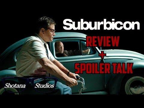Suburbicon | Spoiler Free Review +⚠️SPOILER TALK ⚠️| Shotana Studios