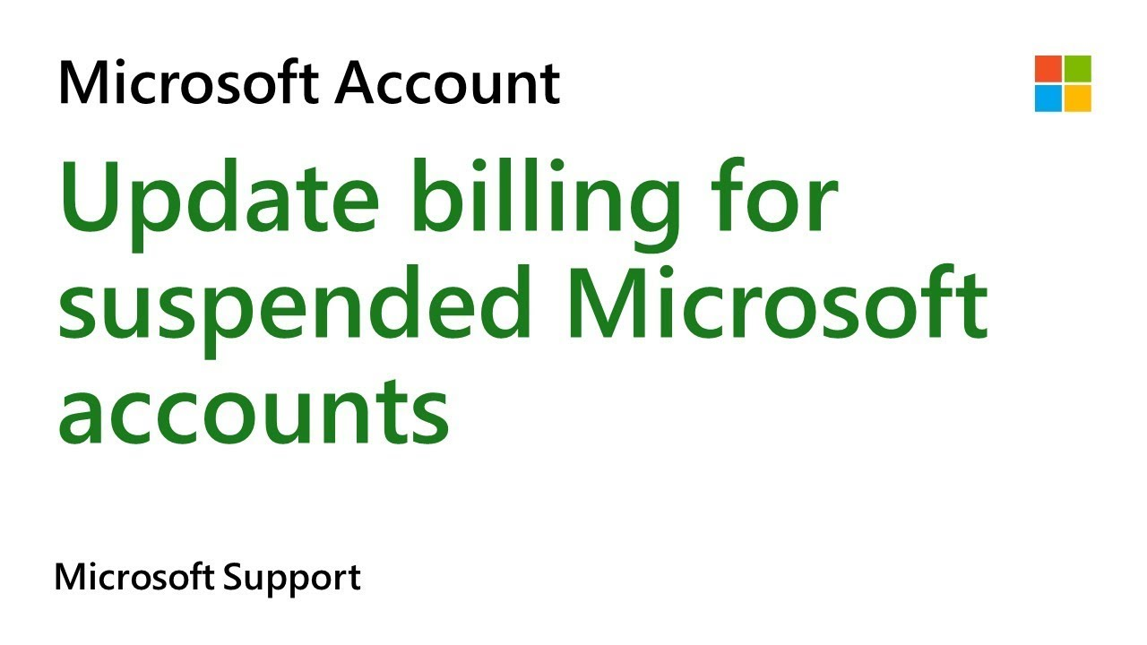 how to update billing for your xbox office 365 or other suspended microsoft account subscription