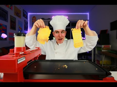 3D Pancake Printer Actually Exists