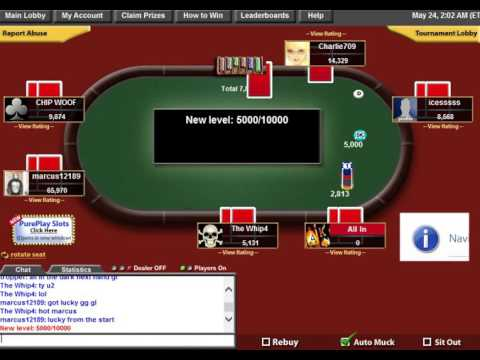 rigged online poker pure play