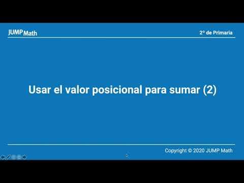 2. Unidad 5. Usar el valor posicional para sumar II