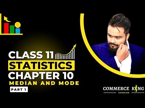 #34, Median- Individual and discrete series(class 11 economics)