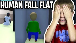GRANNY AND BALDI PLAYING HIDE AND SEEK TAG in HUMAN FALL FLAT