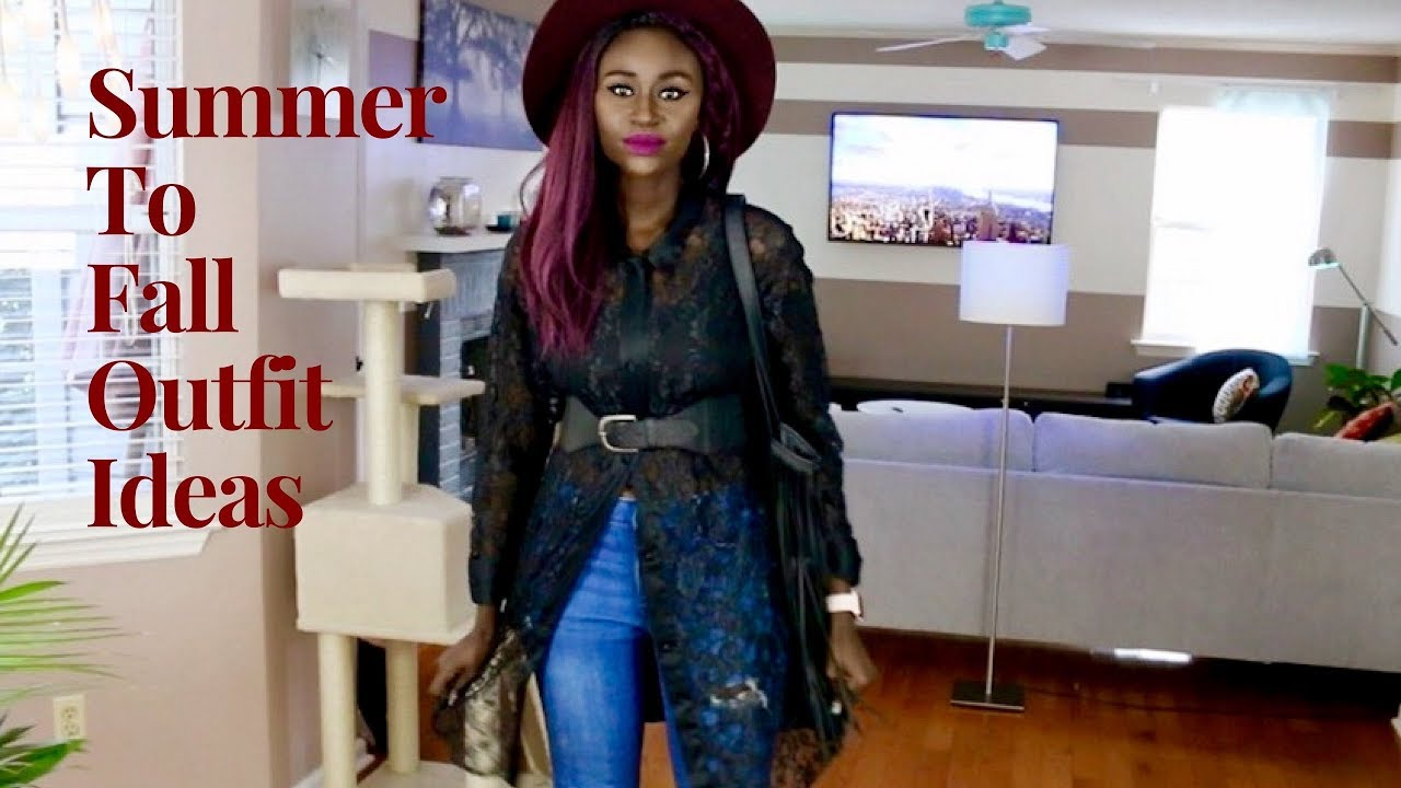 [VIDEO] - Top5 Fall Outfit Ideas (That Are Anything But Boring!) 1