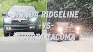 Honda Ridgeline vs Toyota Tacoma - AutoNation