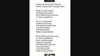 Dahil Sa Isang Bulaklak - LEOPOLDO SILOS (original composer and pianist)