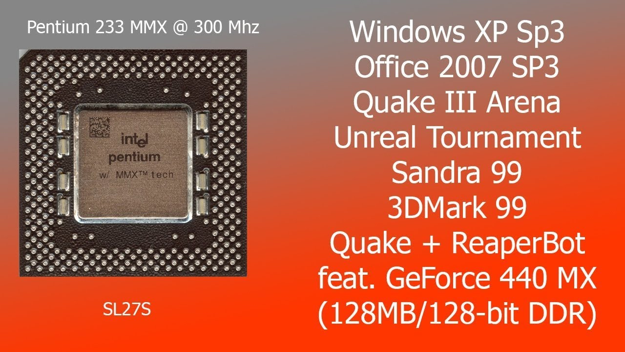 overclock cpu windows xp