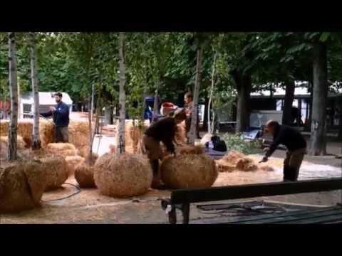C.O. Cellule Organique, le co-jardin des Jardins de Gally à Jardins, Jardin aux Tuileries