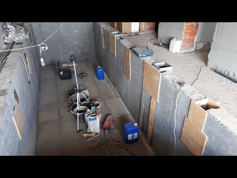 Бассейн Под Ключ в доме +7 (926) 224-71-44. Оборудование в чашу, технология монтажа (Часть №3)