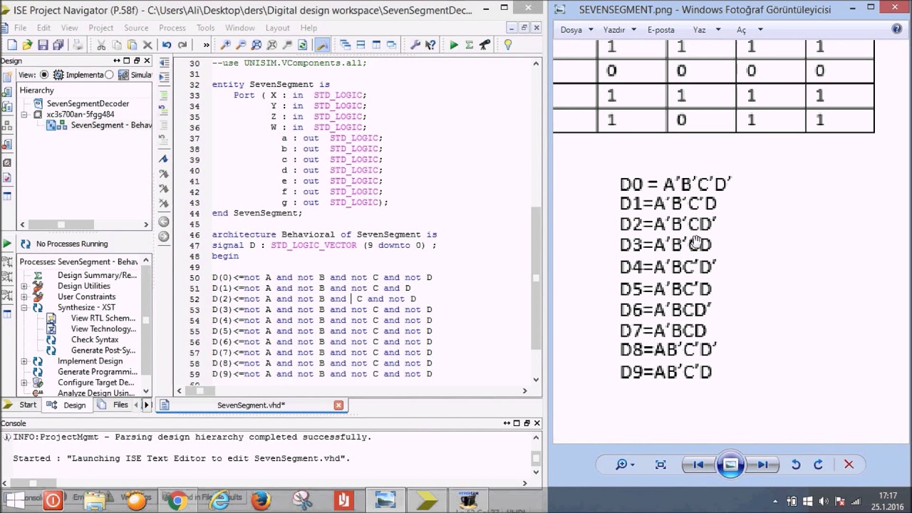 ise vhdl