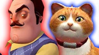 Funny Cute Cats Hello Neighbor Mod! Gmod
