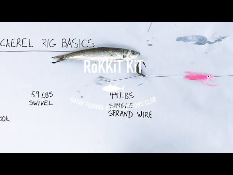 Dead Bait Wire Mackerel Rig 101 - To Catch Big Spanish! Fishing Australia