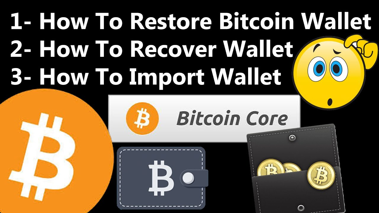 bitcoin core import wallet