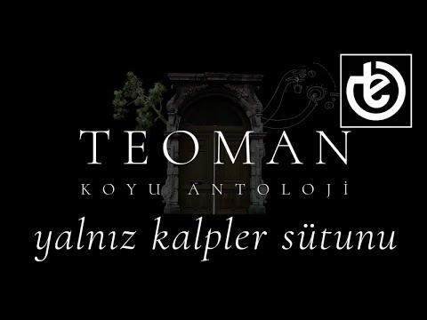 teoman - yalnız kalpler sütunu (Official Lyric Video)