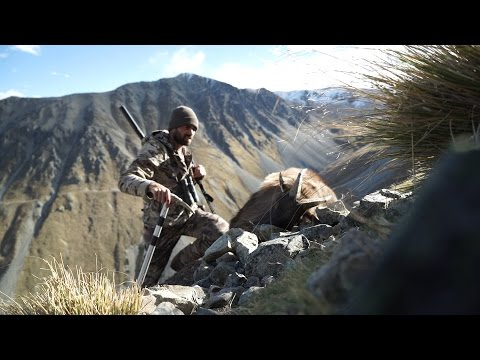 S:7 E:10 Free Range Tahr Brutal Weather in New Zealand Alps with Remi Warren of SOLO HNTR