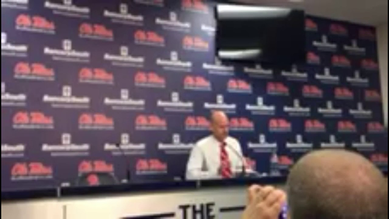 Andy Kennedy after Ole Miss defeats Tennessee