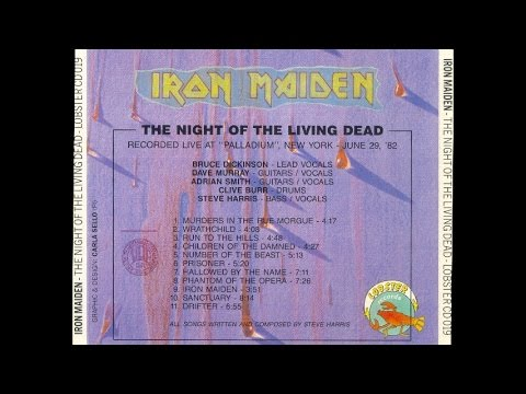 Iron Maiden -  in New York City 19820629