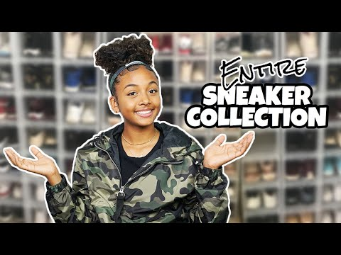 My Entire Sneaker Collection 2019 | LexiVee03