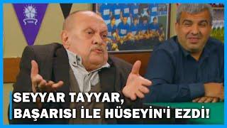 Seyyar Tayyar, Başarısı ile Hüseyini Ezdi - Çocuklar Duymasın 58.Bölüm