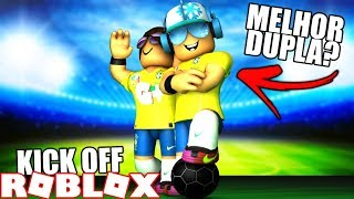 ⚽ The UNBEATABLE SOCCER DUO at ROBLOX (Kick Off) ⚽