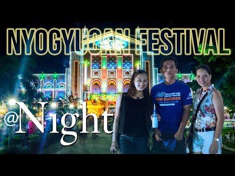 NIYOGYUGAN FESTIVAL AMAZING LIGHTS at NIGHT!!!