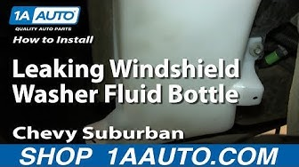 How to Replace Windshield Washer Reservoir 00-06 Chevy Suburban