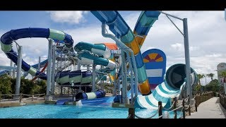 EXCLUSIVE SNEAK PEEK NEW CENTRAL FLORIDA WATER PARK ISLAND H20 LIVE!!!