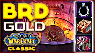Classic WoW BRD Gold Farm, Expensive Items - Rags to Riches.