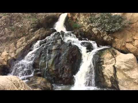 GoPro Waterfall rute Moclin-Olivares slow motion