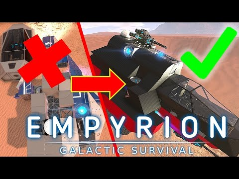 How To Build A SV From Scratch! | Empyrion Galactic Survival Tutorial Guide Version 1.2 | Ep6