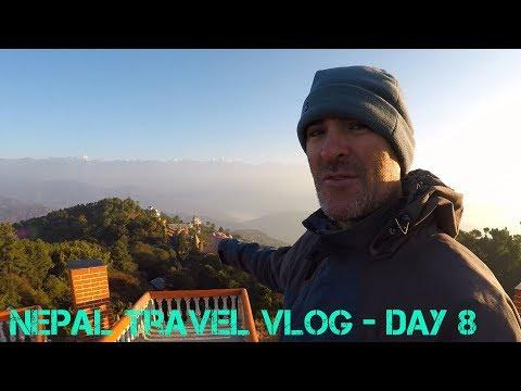 Nepal Travel Vlog Day 8 - Nagarkot to Kathmandu (Back to the City)