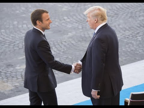 ترامب يستقبل نظيره الفرنسي ماكرون في البيت الأبيض  - نشر قبل 3 ساعة