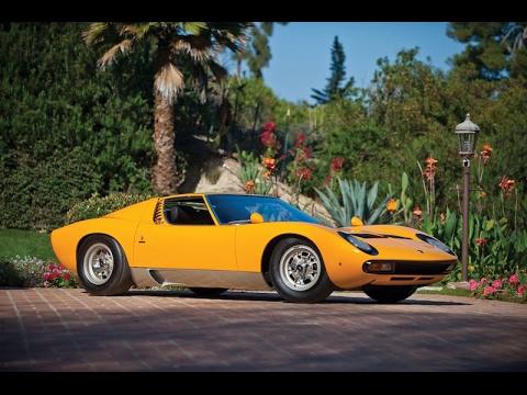 1971 Lamborghini Miura Sv Youtube