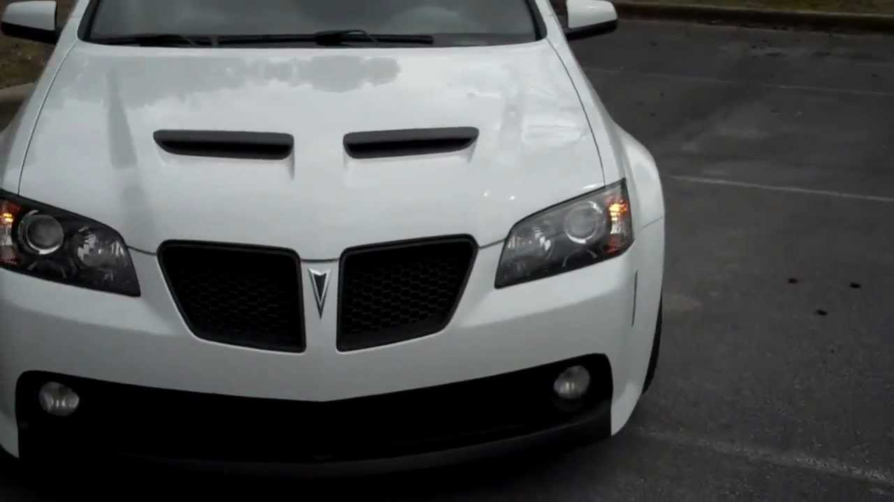Plastidip G8 GT wheels white with silver metalizer - YouTube