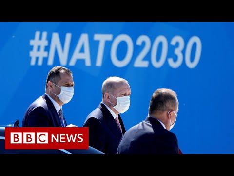 NATO leaders meet in Brussels - BBC News