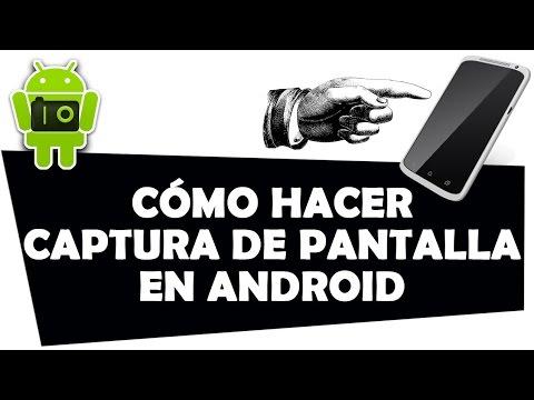 Cómo hacer una captura de pantalla en Android