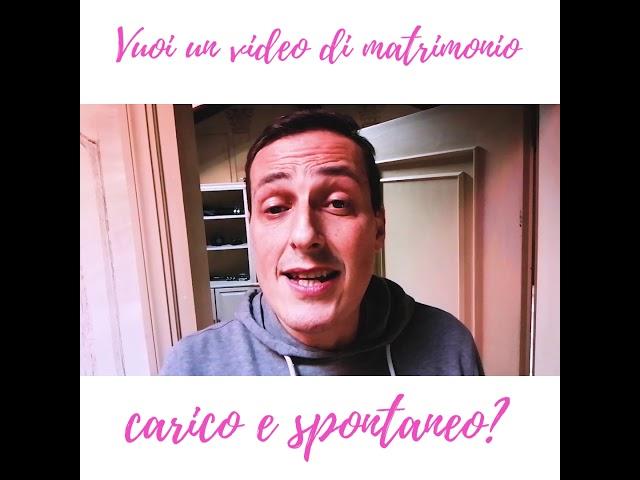 Video Matrimonio Bologna | Sceglilo carico e spontaneo!