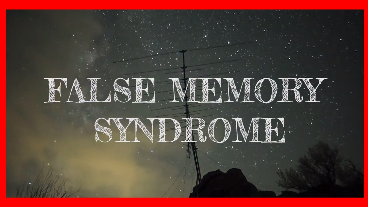 an examination of false memory syndrome The false memory syndrome foundation is a fraud designed to deny a reality that peter and pam have spent most of their lives trying to escape there is no such thing as a false memory syndrome it is not, by any normal standard, a foundation  crisis or creation: a systematic examination of false memory claims journal of child sexual abuse.