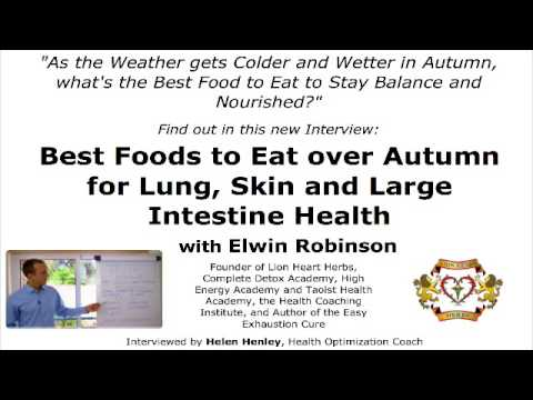 What to Eat in Autumn: Taoist Guide