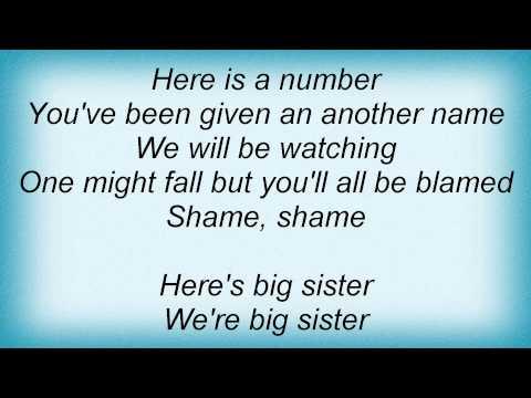 Dio - Big Sister Lyrics mp3