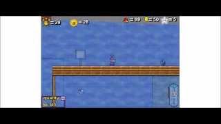 Super Mario 63 Complete 100% Walkthrough Part 9 - Wet Dry World