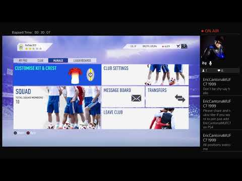 FIFA 19 Pro Clubs - YouTube 2019 Race to Division 1
