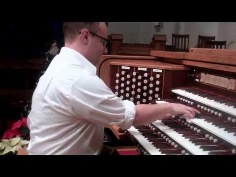 Test Run of new Allen Organ