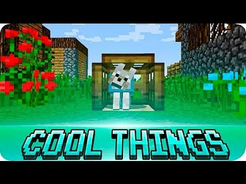 8 cool things to build in minecraft!!!