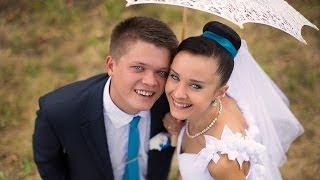 Костя и Женя свадебное видео Жлобин
