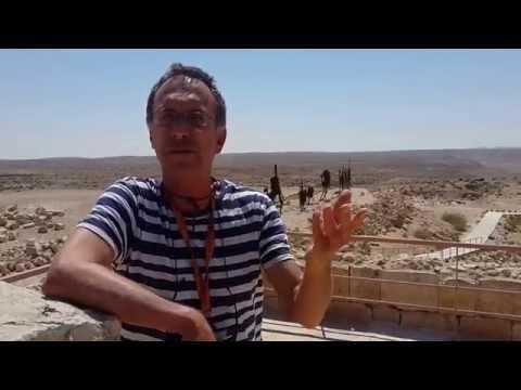 Israel Privat Tour Guide at Avdat.