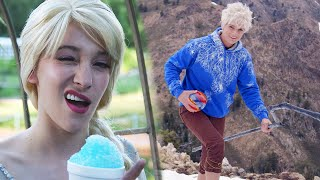 Elsa & Jack Frost Bloopers Find a Way (Jelsa)