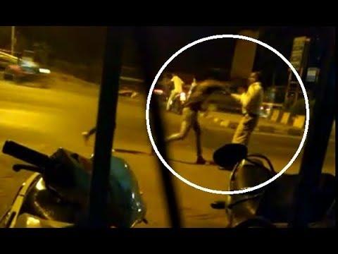 Navi Mumbai traffic cop slapped by youth | Nagpur Today